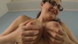 Playing with my soft mature udders